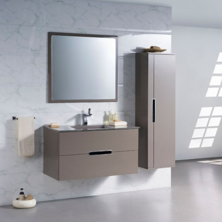 Meubles de salle de bain contemporains provence materiaux for Meuble de salle de bain contemporain